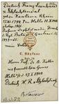 Dietrich Franz Leonhard v. Schlechtendal - verso