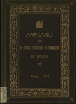 Annuario della R. Scuola superiore di commercio in Venezia per l'anno scolastico 1904-1905