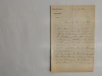 Lettera da Morren a Visiani (7 marzo 1870)