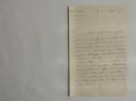 Lettera da Morren a Visiani (12 marzo 1875)