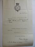Lettera da Saunders a Visiani (25 gennaio 1838)