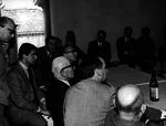 11 aprile, Le Corbusier partecipa alla conferenza stampa
