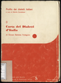 Carta dei dialetti d'Italia di Giovan Battista Pellegrini