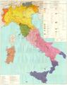 Carta dei dialetti d'Italia a cura di G. B. Pellegrini