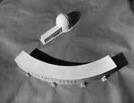 Modellino dei due edifici dell'Osservatorio