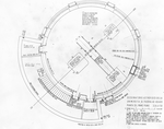 Pianta della cupola dell'Osservatorio