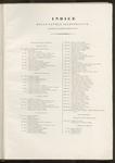 Indice delle tavole illustrative contenute in questo primo volume (prima parte).