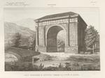 Arco Trionfale d'Augusto presso la città d'Aosta.