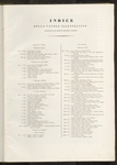 Indice delle tavole illustrative contenute in questo 2° volume (parte prima).