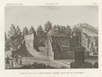 Veduta di una parte delle terme antiche di Volterra.