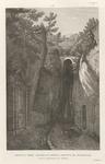 Veduta dell'ingresso della Grotta di Pozzuoli, nella provincia di Napoli.