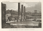Avanzi del Tempio di Giove Serapide a Pozzuoli.