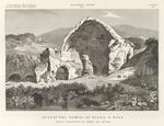 Avanzi del Tempio di Diana a Baia, nella provincia di Terra di Lavoro.