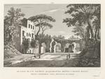 Avanzi di un antico acquidotto detto i Ponti Rossi, presso Capodichino nella provincia di Napoli.