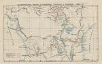Tavola delle esplorazioni dell'Africa Equatoriale: Schweinfurth, Baker, Livingstone, Stanley & Gameron. 1866 - 75.
