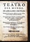 Teatro del mondo di Abraham Ortelius (Edizione Lovisa del 1724).