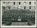 Seminaristi e sacerdoti del Seminario Vescovile di Padova con il Vescovo Carlo Agostini