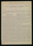 Giustizia e libertà (ed. speciale per la Valle Maira). Notiziario dei patrioti delle Alpi Cozie