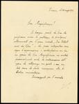 Fascicolo 3 - Walter Cernowicky al Rettore dell'Università di Padova