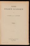 Icones fungorum Javanicorum