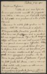 [Lettera di G. B. Traverso a Pier Andrea Saccardo]