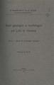 Studi geologici e morfologici sul Lido di Venezia. Pt. 1: Studi di morfologia litoranea