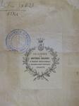 Ex libris di Antonio Favaro