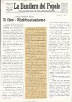 """Il neo-malthusianismo . In """"La bandiera del popolo"""", II, 20 (9 aprile), 1910"""
