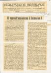 """Il neomalthusianismo è immorale. In """"l'Educazione Sessuale"""", I, 12 (Aprile) 1914"""