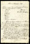 Documentazione relativa alla carriera di P.A. Saccardo (1877-1879)