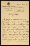 Acquisto della raccolta Saccardo presso gli eredi (1920-1921)