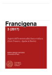 Aspetti dell'intertestualità franco-italiana ('Geste Francor' e 'Aquilon de Baviere')