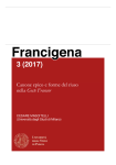 Canone epico e forme del riuso nella 'Geste Francor'