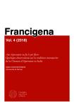 «Sot Aspremont ou fu li pré flori». Quelques observations sur la tradition manuscrite de la 'Chanson d'Aspremont' en Italie