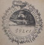 Ex libris di Franz von Winckel