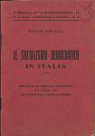 """Il socialismo democratico in Italia. Dalle note per una conferenza che fu pronunciata il 6 d'ottobre 1912 alla """"Casa del Popolo"""" di Rovereto di Modena"""