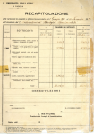 Ricapitolazioni inventariali dell' Istituto di psicologia 1924-1938 (inventari 1920-1938)