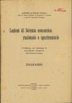 Lezioni di scienza economica razionale e sperimentale -2 ed. DIAGRAMMI