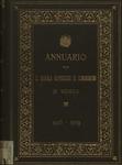 Annuario della R. Scuola superiore di commercio in Venezia per l'anno scolastico 1908-1909