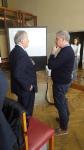 EOSC. Scenari evolutivi e sviluppi in ambito italiano. Fasi preliminari del workshop: incontro tra Budroni e Ruggieri