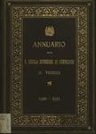 Annuario della R. Scuola superiore di commercio in Venezia per l'anno scolastico 1910-1911