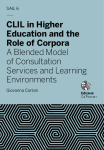 CLIL in Higher Education and the Role of Corpora. A Blended Model of Consultation Services and Learning Environments