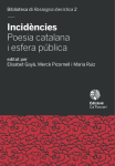 Incidències. Poesia catalana i esfera pública