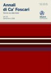 Annali di Ca' Foscari. Serie occidentale. Vol. 52  –  Settembre 2018