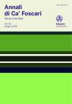 Annali di Ca' Foscari. Serie orientale. Vol. 52, n. 1  – Giugno 2016