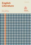 English Literature. Vol. 1, n. 1 - Dicembre 2014