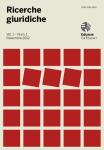 Ricerche giuridiche. Vol. 1, n. 1 - Novembre 2012
