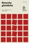 Ricerche giuridiche. Vol. 2 – Supplemento al n. 1 - Ottobre 2013