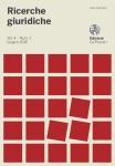 Ricerche giuridiche. Vol. 4, n. 1 - Giugno 2015