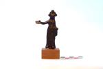Bronzetto - Figura femminile
